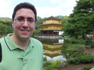 Jose posing in front of Kinkakuji in Kyoto, September 11, 2013. Photo by Jordan Martin