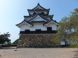 "The ""tenshu"" or main keep at Hikone Castle, undamaged through the centuries. Photo by Jose Ramos, September 13, 2013"