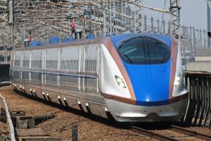 New E7 Series Shinkansen in service. Photo by Tokyo Sakura, CC by 2.0