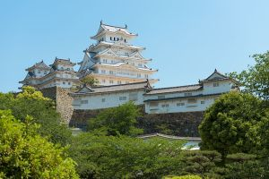 Himeji Castle after restoration. Photo by Niko Kitsakis (CC BY-SA 4.0)