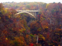 鳴子峡の紅葉_(Autumn_Leaves_at_Naruko_Gorge)_31_Oct,_2009_-_panoramio